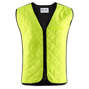 The Bodycool Basic Vest in Yellow