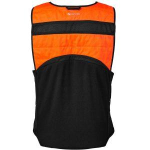 Bodycool Pro-X Orange Cooling Vest Back